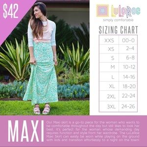 LuLaRoe Medium Maxi